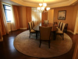 Dinning area in the Luxury Suite Thursday morning, March 27, 2008, Denver. The Ritz Carlton has...
