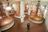 The kettle room  at  Coors Brewing Company in Golden, Colorado  Tuesday February 19, 2008 is one...
