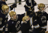[ JOE0608 ]  University of New Hampshire Notre Dame in the second period of Game 1 of the first...