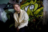 DM1295   Jolt, a Denver graffiti artist who grew up in north Denver, is one of 15 people who have...