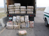 Roughly 600 Pounds of Marijuana Found in Trailer   Semi-truck with an illegal load  MESA COUNTY,...