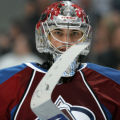 BG0410 Colorado Avalanche #Jose Theodore held the  Minnesota Wild to a shut out in the first two...