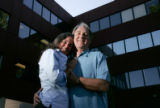 Portrait of Lisa McVicker and Craig Steinmetz at their office in Denver, Colo., on Tuesday, August...