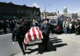 (5/13/05, Denver, Colorado)  Friday morning, May 13, 2005, Denver mourned for slain Denver Police...