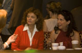 Susan Sarandon was one of the actors at Earl's Restaurant for the Creative Coalition's honoring of...