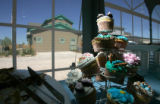 Cupcakes meant to inspire participants are on display across from a KB Home Stapleton: Homes...