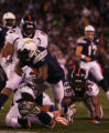 (0371)LaDainian Tomlinson scores in the second quarter of the Denver Broncos against the San Diego...