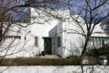 Homes around Denver to show different styles of architecture.  For an International Style modern...
