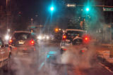 A cold early morning commute on Colfax Ave. and Grant Street Monday December 15,2008.An Arctic...