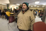 DM3073  Stan Colley steps out of the cold and into the St. Francis Center in Denver Monday, Dec....
