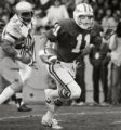 AFA QB MArty Louthan Air Force-Notre Dame. Nov. 20, 1982 Photo By: Frank Murray