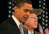 0098 President-elect Barack Obama introduces U.S. Sen. Ken Salazar, as his choice for Interior...