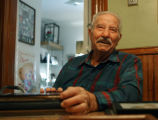 "Albert ""Ice""  Mancinelli (cq) in his north Denver home Wednesday December 17,2008. Ice..."