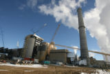Construction of Xcel power plant Comache 3 , south of Pueblo Thursday December 18,2008. Colorado's...