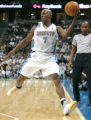 0530  Denver Nuggets guard Chauncey Billups (7) saves a an errant pass in the second half at the...