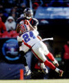 (0627) Brandon Marshall catches a pass in front of Terrence McGee in the first quarter of the...