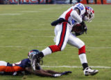 (1000) Steve Johnson beats Dre Bly for a touchdown in the fourth quarter of the Denver Broncos...