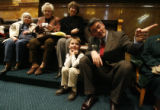 DM0021  LEG56403 Rep. Cory Gardner R-Yuma sits with his nephew Caden Kokes, 7, of Fort Collins...