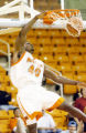 Photo by Beau Cabell Macon, Ga., 1/3/05:  Mercer's Wesley Duke (40) slams  home a first half...