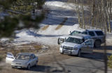 A Boulder County Sheriff's deputy shot and killed a man at the side of Peakview Rd.in Nederland,...