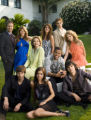 "NYET422 - In this image released by The CW network, the cast from ""90210"", front row..."