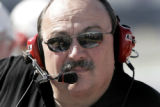 NY157 - ** FILE ** In this June 17, 2006 file photo, team owner Bill Davis watches the NASCAR...
