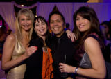 (Denver, Colorado, Dec. 6, 2008) Event chair Tonya Frank, Jenny Baker-Strasburg (VIP committee),...