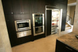 0131 Built-in appliances in the kitchen of a home at 4546 W 36th Ave. that is going up for auction...