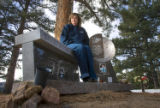 387  Kelly Grizzell,  visits the grave site of her daughter, Stephanie Hart Grizzell, 16, and...