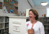 082307--Perrot Memorial Library--Old Greenwich--Kathy Krasniewicz, acting direct of youth services...