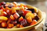 Roasted root vegetables.  Food story. (ELLEN JASKOL/ROCKY MOUNTAIN NEWS)