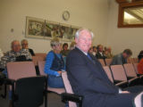 Cutline: Former Denver Nuggets coach Dan Issel waits to testify before the House Agricultural...