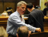 Representative David Balmer R- Centennial, argues that the average family will pay $82 more to...