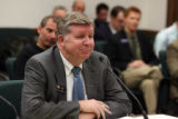 CODER102 - Rep. Douglas Bruce testifys before a special House Committee at the state Capitol in...