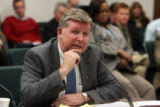 CODER101 - Rep. Douglas Bruce testifys before a special House Committee at the state Capitol in...
