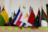International flags are for sale at the International Market at 2020 S. Parker Road, Denver, Colo....