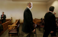 0742 Tim Masters leaves the courtroom after his release at the Larimer County Justice Center in...