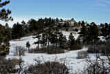 (Easement 1) A home sits above the Bear Dance Golf Course, Thursday morning, January 31, 2008,...