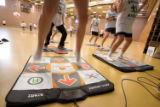 "(Littleton, Colo., Jan. 25, 2008) ""Dance Dance Revolution,"" an interactive game where..."