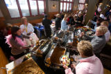 (Keystone, Colo., Feb. 9, 2008) Lunch break was a buffet in a reserved area for more than 60...