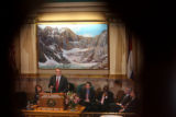 Colorado governor Bill Ritter delivers his second State of the State speech, on Thursday, January...