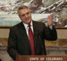 Governor Bill Ritter gives his State of the State speech in the House, Thursday morning, January...