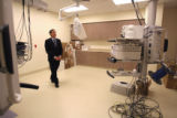 Michael Salem (cq), CEO of National Jewish Hospital stands in the Advanced Imaging area currently...
