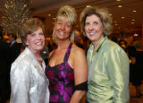 "(Denver, Colo., October 1, 2005) Gretchen Pope, Lisa Corley, Sally Frerichs.  ""High Hopes..."