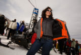 (Aspen, Colo., Jan. 27, 2008) Suzanne Pfister of Aspen, with her Excel jacket and Force vest from...