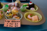 Cup cake lip gloss can be found the store Starlet on 32nd street in Highland square on April 15,...