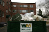 The housing complex at 85 Grant St. is involved in the Danny DeGrande foreclosure scandal. Trash...