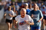 [Boulder, CO - Shot on: 5/31/04] Mark Braukhoff, of Castle Rock, Colo., makes his way to the...