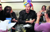 (BOULDER, Colo., November 20, 2004)  HGTV DREAM HOUSE PROJECT.  Christopher Herr clowns around...