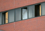 BG_0016 A broken window that appears to be on the sixth floor of the Cherry Creek Hotel in...